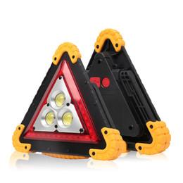 2019 al por mayor reflectores de energía solar 30W LED Luz de trabajo portátil Luz de advertencia de emergencia USB Recargable Banco de energía Reflector para acampar, senderismo, reparación de automóviles