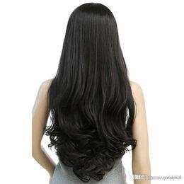2019 falso cabelo longo marrom MapofBeauty 30