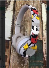 Беспроводные наушники дешево онлайн-2019 Рождественский подарок Дешевые Микки 90-летие издание 3 Беспроводные наушники Bluetooth-гарнитуры DHL Бесплатная доставка