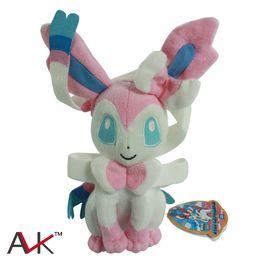 2019 bebê mario bros brinquedos de pelúcia Dolls 1Pc Eevee Plush Sylveon Plush Toys Stuffed suave Grandes presentes 9 polegadas 25cm