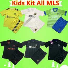 Galaxienanzug online-Kinder Kit 2020 2021 Alle MLS Socer Jerseys La Galaxy Inter Miami Lafc Los Angeles Jungen Anzug New York Kind Set City Atlanta United Shirt