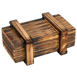 Casella 3d magica online-Magic Mystery Box Puzzle Scatola di legno per gioielli nascosti per adulti