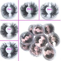 2019 taiwan faux cils 2019 nouveaux cils de vison 3D de 25MM Faux cils 100% de cils prolongés de vison 5d cils de vison épais longs cils dramatiques DHL GRATUIT