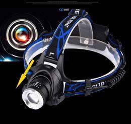 hohe lumen taschenlampe fackel Rabatt Outdoor 3000 Lumen XML T6 High Power LED Scheinwerfer Scheinwerfer Taschenlampe 3 Modi hell strahlend zoombar Camping Reiten Scheinwerfer