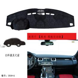 autocollants bonnet Promotion Range Rover Sport 2010-2016 et Discovery 4-2016 en cuir voiture DashMat dashboard dashboard pad pad tapis tapis