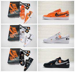 best loved f90f5 99876 2019 SB Blazer Low GT Just Do It Mujer Hombre Calzado de correr 45th Calidad  superior Moda Zapatos de cuero Casual Dunk Designer Sneakers Eur36-45  rebajas ...