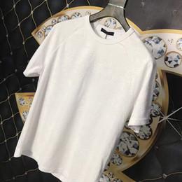 référence de vêtements Promotion 19ss Paris Haute Qualité corps entier Fleur Star print Jacquard Marque T-shirt Mode Hommes Designer Femmes T-shirt Casual Tee sac à main tag top