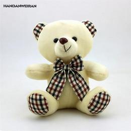 fc6babaae82 HANDANWEIRAN 1 Pcs 18 CM Encantador Stuffed Plush Animal Kawaii Brinquedos  Hot Bow Tie Urso De Pelúcia Boneca de Brinquedo Presente do Dia Dos  Namorados PP ...