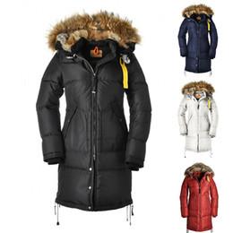 2019 grüne parka mantel weiße pelz kapuze DHL Damen Daunenjacke Warm Outdoor Sport Damen Designer Wintermäntel Qualitäts-Winter-Doudoune Frauen ES Outerwea Mantel