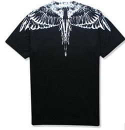 2019 mostra le ali ss new Marcelo Burlon T-Shirt Uomo Milano Feather Wings T Shirt Uomo Donna Coppia Fashion Show RODEO MAGAZINE Magliette Goros camisetas