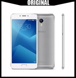 """India telefone celular atacado on-line-Atacado Original Meizu M5 Nota Global ROM 2.5D Vidro 4G LTE Telefone Celular Helio P10 Octa Núcleo 5.5 """"FHD 3 GB 16 GB / 32 GB ROM Impressão Digital"""