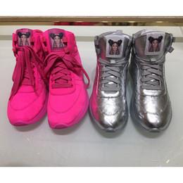 zapato de impresión de tela Rebajas La más nueva llegada de lujo Tech Fabric-Tops de las mujeres impresiones de la zapatilla de deporte de la letra en los zapatos Los zapatos para caminar zapatos de alta calidad respirable con cordones de corriendo