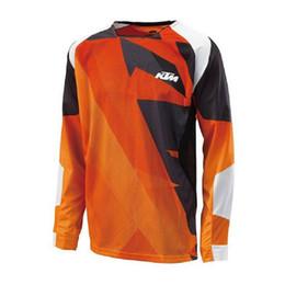 Bicicleta de montaña t shirts online-Nueva 2019 camisetas de motociclismo Moto XC motocicleta GP Mountain Bike Motocross Jersey XC camiseta ropa XXS a 5XL