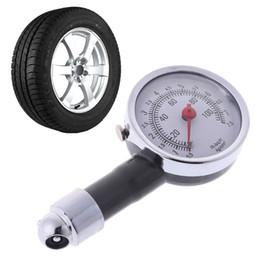 outil de balayage abs Promotion Bateau de dépose mètre de jauge de pression d'air de pneu de jauge de pression de pneu 0-100 psi de voiture automatique