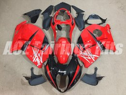 99 hayabusa injection mold Coupons - New ABS motorbike Fairings Kits+Tank cover Fit For SUZUKI Hayabusa GSXR1300 97 98 99 00 01 02 03 04 05 06 07 GSXR1300 1999-2007 red black