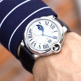 acciaio blu giapponese Sconti orologi ufficiali Edizione di lusso importati giapponese 8215 movimento automatico WSBB0020 Moon Watch mens puntatore di lusso da polso in acciaio blu guardare