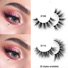 5859cdcef70 3D Mink Lashes Handmade Full Strip Lashes Cruelty Free Luxury Mink Eyelashes  Makeup Lash maquiagem faux cils3D Mink Lashes Handmade Full Str
