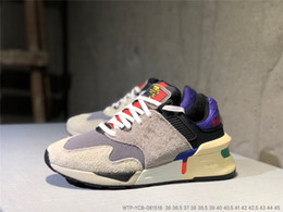 Baskets d'équilibre en Ligne-2019 New Balance Bodega x NB 997S PAS DE JOURS MS997JBK Designer Mode Sneakers Hommes Femmes Running Chaussures taille 36-45