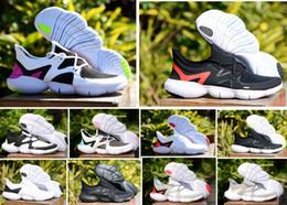 zapatos frescos para correr Rebajas NUEVO 2019 Free RN 5.0 Zapatillas de running para hombre Zapatillas de deporte de diseñador de moda masculina Summer Cool Breathable RUN Women Lightweight Knit Shoes 36-45
