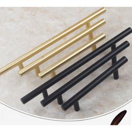 Black Brushed Brass Cabinet Hardware 305 Series Euro Style Bar Pulls Knobs Furniture Antique Shell Handles Tiradores De Home Decor