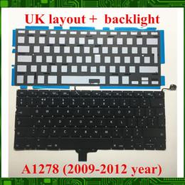 """Macbook 13 hintergrundbeleuchtung online-NEU Für Macbook Pro 13 """"A1278 UK Tastatur mit Hintergrundbeleuchtung 2009 2010 2011 2012 JAHRE"""