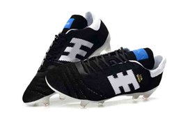 d058d360c4f Copa 70Y Mundial Leather FG Soccer Shoes Discount Soccer Cleats 2015 World  Cup Football Boots Size 39-45 Black White Orange botines futbol