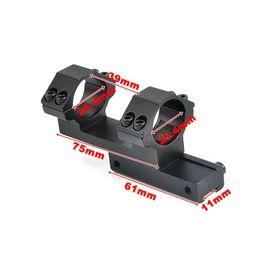 Taktik Ağır Konsol Düz Üst Halka 25.4mm Tüfek Kapsam Montaj Adaptörü 11mm Picatinny Raylı Weaver El Feneri nereden