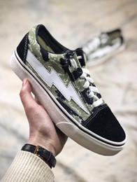 zapatos de camuflaje para mujer Rebajas Lo nuevo Camo Revenge X Storm old skool Classic negro blanco rojo azul verde verde claro hombres y mujeres zapatos casuales zapatillas de skate zapatos 36-44
