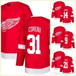 f3e8b8780f8 Detroit Red Wings Custom Hockey Jerseys Red 71 Dylan Larkin 9 Gordie Howe  93 Johan Franzen 8 Justin Abdelkader 55 Niklas Kronwall Jersey