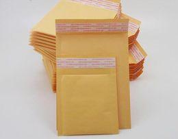 Gelbe blasenpaket online-Luftpolsterfolie Beutel 50pcsBubble Mailers Gepolsterte Umschlagbeutel Versandverpackung Beutel Kraftpapier Luftpolsterfolie Umschlagbeutel Gelbe Farbe