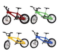 Canada Alliage Mini Finger Bikes Modèle Jouets De Bureau Bicyclette Modèle Jouets Mini Doigt Vélo pour Enfants Jouets De Voiture De Noël Décor Pièces Offre