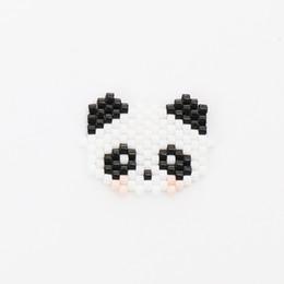 2019 perle panda G.YCX 10pcs / lot monili Cute Panda braccialetti dei pendenti Boemia Perle Delica Miyuki Accessori Bambini Estate 2019 Pulseras sconti perle panda