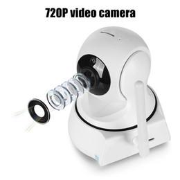 Cámaras de movimiento para la seguridad online-2019 Nueva Seguridad para el hogar Cámara IP Cámara WiFi Videovigilancia 720P Visión nocturna Detección de movimiento Cámara P2P Monitor de bebé Zoom