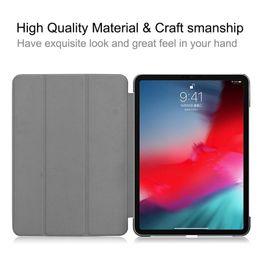 """a13 mid tablets Sconti Nuove custodie in pelle per iPad Pro 11 pollici 2018 Luxury Magnetic Flip Smart Cover per iPad Pro 11 """"2018 Protezione antiurto"""