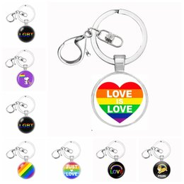 2019 catene lesbiche Lgbt orgoglio regalo lesbico ciondolo portachiavi arcobaleno gay pride catena chiave portachiavi portachiavi chaveiro regalo souvenir llaveros gioielli