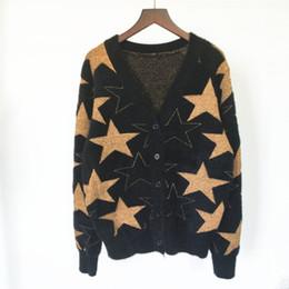 2020 suéter cardigan de punto de gran tamaño para mujer 2019 mujeres de la marca de ropa de punto Cardigan Femenino Femenino para mujer del color sólido de tamaño de gran tamaño sueltos Cardigan mujeres suéter Plus 29-1 rebajas suéter cardigan de punto de gran tamaño para mujer