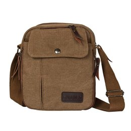 Canvas Travel Shoulder Messenger Bags for Men Multi Pockets Male Crossbody  Outdoor Bag Satchel Storage Phone Bag Dropshipping 58c5c60d21d12
