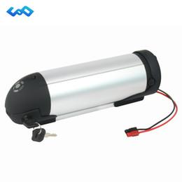 Ebike 36v bateria li ion on-line-Bateria elétrica da bicicleta 36V 13Ah bateria do Li-íon Bateria da garrafa de água de 36 volts para o motor de eBike 500W