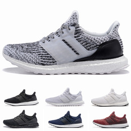 9c72e2c13d01f Ultra boost Running Shoes 3.0 4.0 Men Women Stripe Balck White Oreo  Designer Sneakers Ultraboost Sport Shoes Trainers Size 36-45