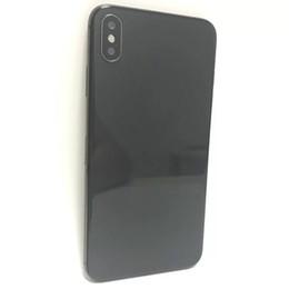 telefono 5mp Sconti Goophone Max goophone 6.5 pollici Xs Max Phone con doppia SIM WCDMA 3G Face ID Quad Core Ram 1GB Rom 4GB Camera 5MP Smart Phone