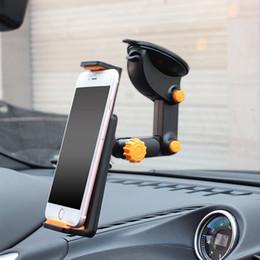 support de navigation de voiture de téléphone portable Promotion Universal Mobile Phone Dashboard réglable Téléphone de voiture Support GPS système Navigation Support de téléphone portable stand