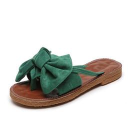 2019 rosa 89 2019 Estate tendenza infradito da donna sandali Sexy sandali croce scarpe bowtie moda di design di lusso sandali piatti di design TY-89 sconti rosa 89