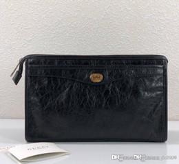 2019 карманный пресс 2020 горячая новая мужская сумка с блокировкой G 575991 роскошная дизайнерская сумка на молнии клатч модный стиль с коробкой