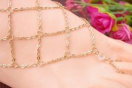 Lady Moda Plaj Çok Püskül Toe Ring Zincir Bağlantı Ayak Takı Halhal Zincir Kadın Hediye moda takı bildirimi 2015 yeni varış 160243 nereden bebek kız için diy hediye tedarikçiler