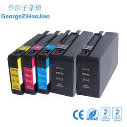 Patrone hp pro online-ZH 5x Tintenpatronen 950XL 951XL Kompatibel für HP950 951 Officejet Pro 8610 8600 Plus-Drucker
