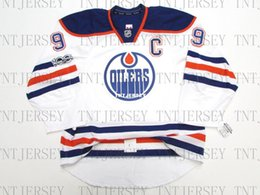 Cheap custom Wayne Gretzky EDMONTON OILERS AWAY 100th ANNIVERSARY TEAM  JERSEY stitch add any number any name Mens Hockey Jersey XS-5XL 3a0c23188