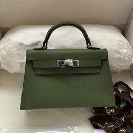 Embreagens elegantes bolsas on-line-Designer Crossbody bag Moda feminina Clutches Real couro de vaca com hasp de metal absolutly Os preços mais baixos Low-key e elegantes sacos casuais