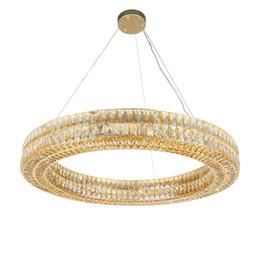 Moderno y lujoso acabado en plata dorada, lámpara de cristal redonda, RH, luces de diseño para el hogar de luces de diamante para la sala de estar dormitorio desde fabricantes