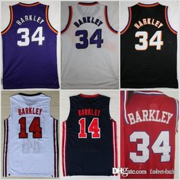 c1635029 Chinese 1992 New Dream Team One 14 Charles Barkley Phoenix Jersey SUNS  Fashion 34 Shirts Uniforms