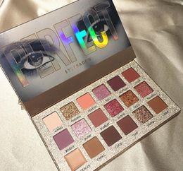 Beauty Glazed Makeup 18 Colour Nude Eyeshadow Palete Waterproof Palette per ombretti Make up Brush Palette per ombretti Cosmetici da
